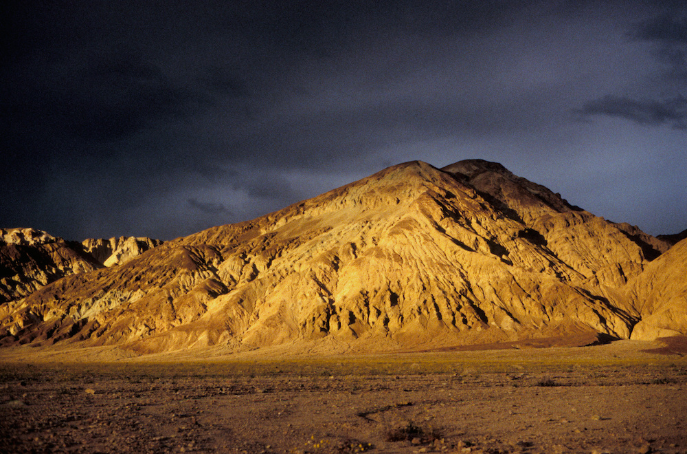 Mountains in sunset / Death Valley