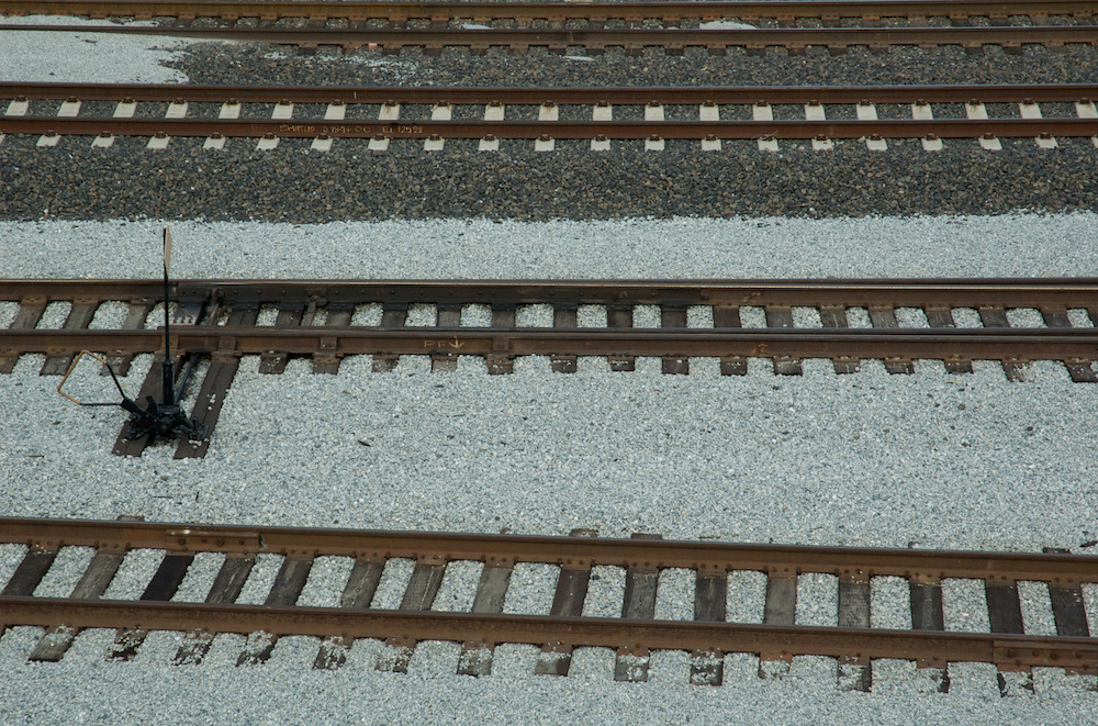 CP Michael yard tracks