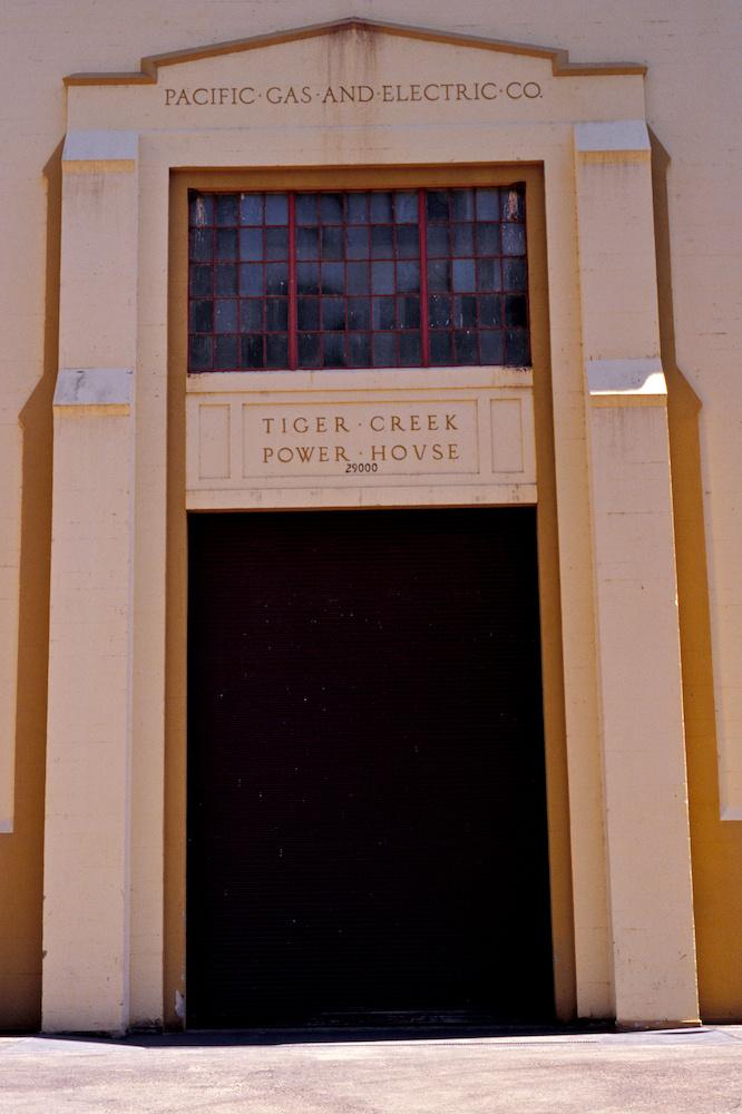 Tiger Creek Power House