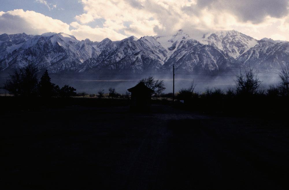 Manzanar dusk