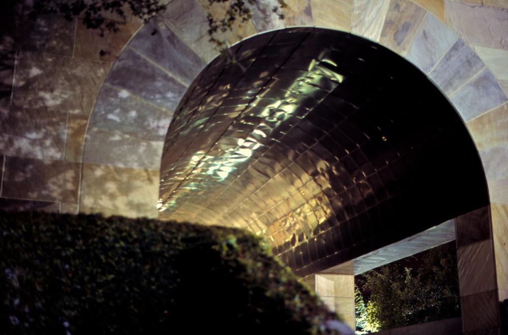 Metallic vault