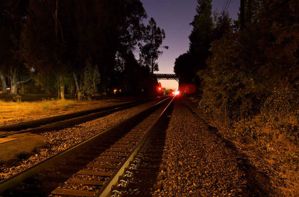 Rails into the sunset