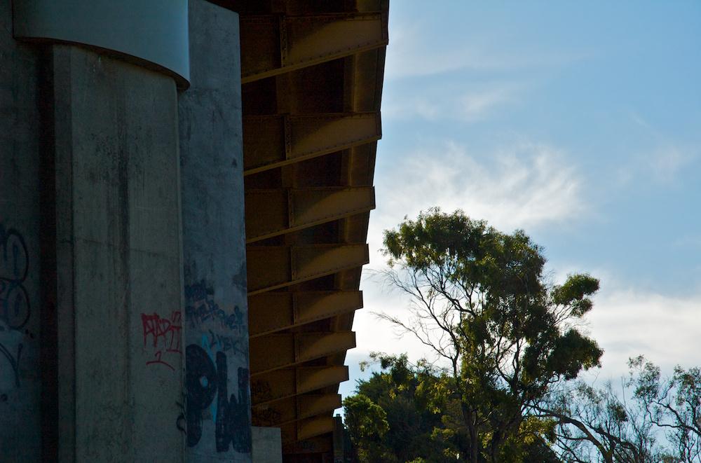 Gritty overpass