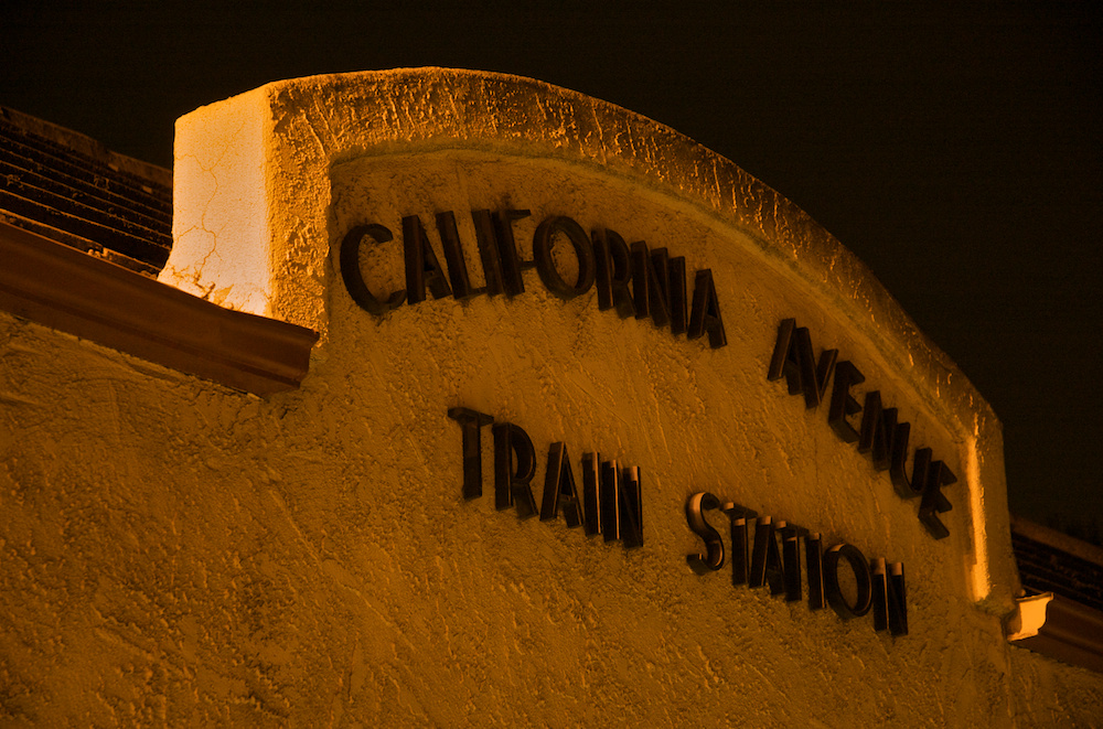 California Avenue Train Station