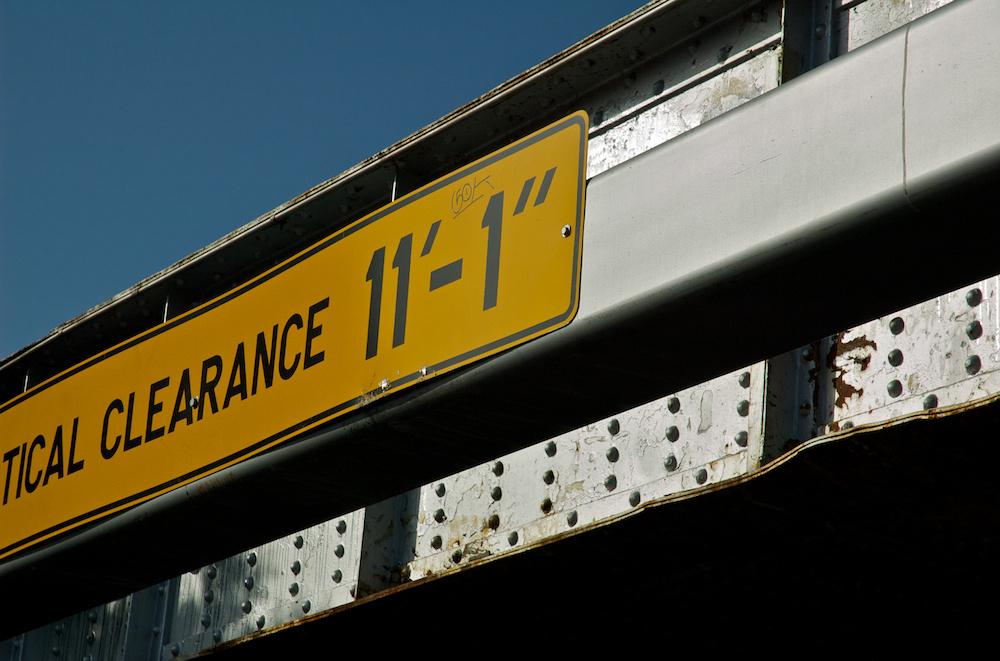 "tical Clearance 11'-1"""