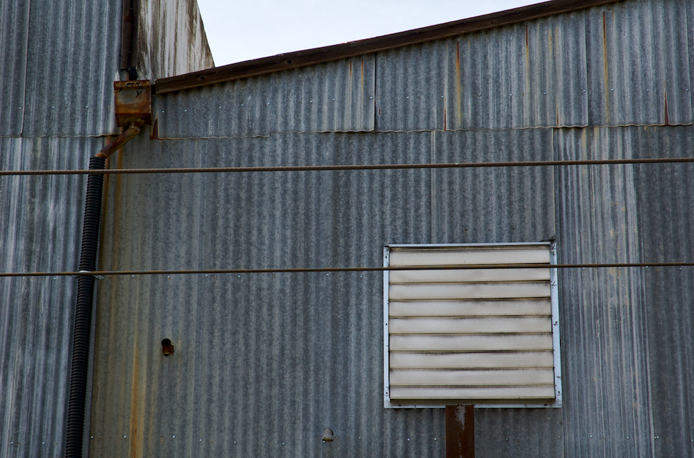 Corrugated siding
