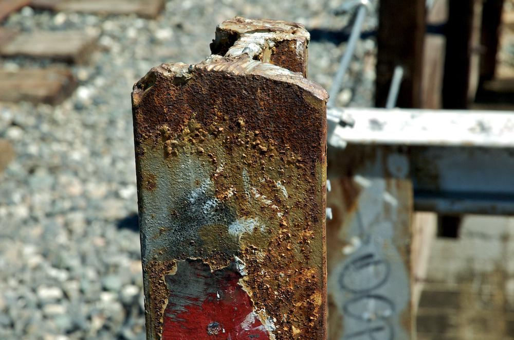 Rusty post
