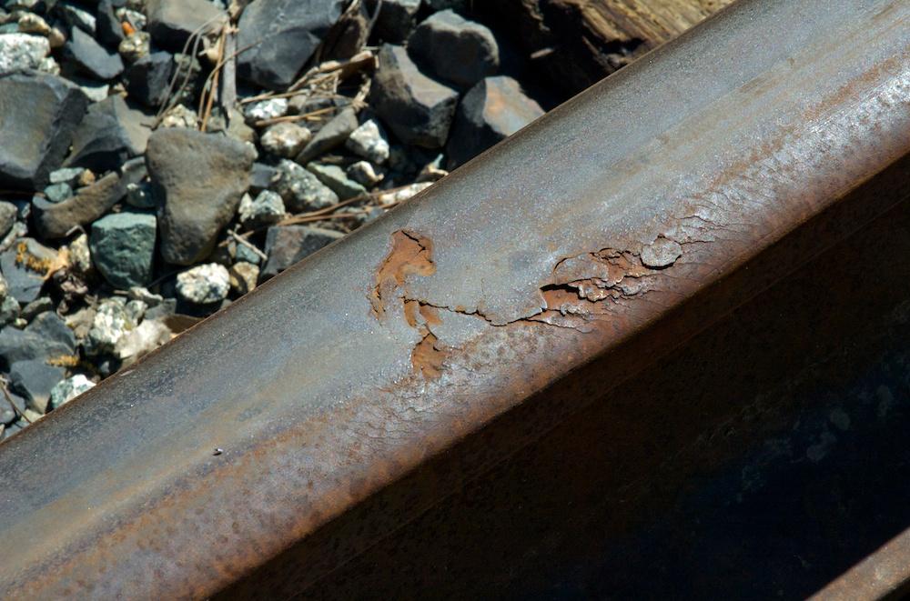Scabby rail