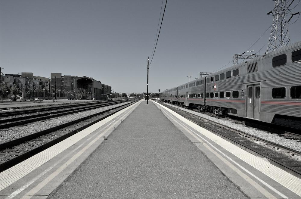 Diridon platform