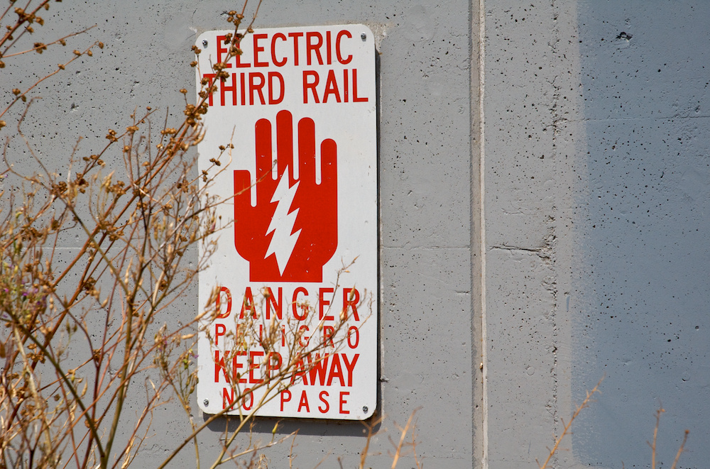 Electric third rail