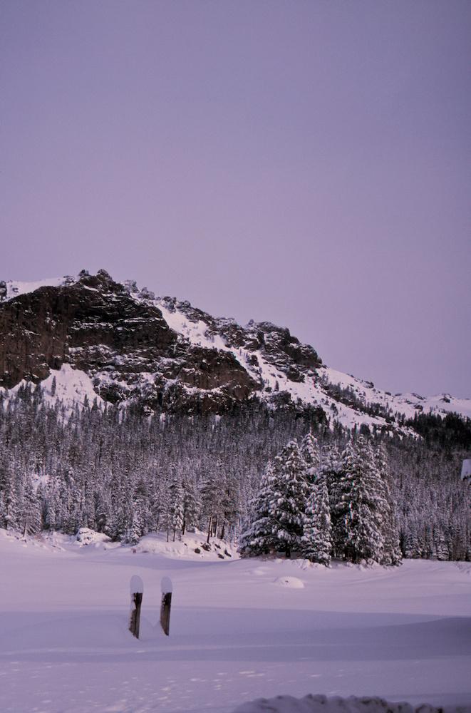 Snow on Thunder Mountain