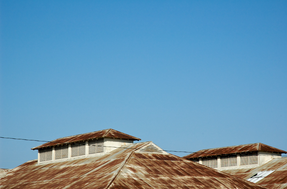 Rusty roofs