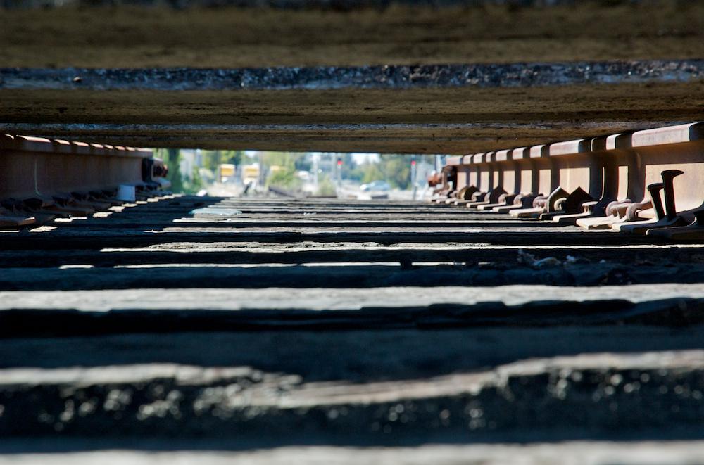 Track frame