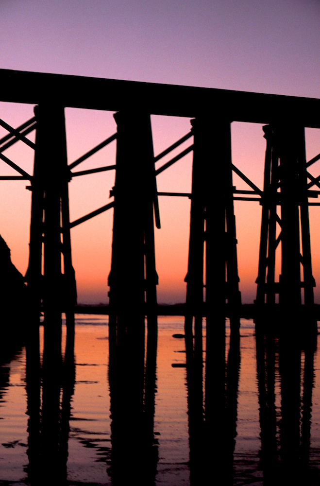 Sunset trestle #3