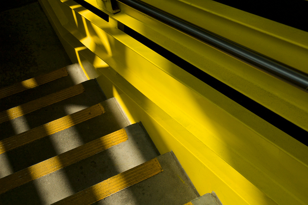 Dappled steps