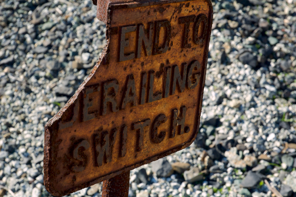 END TO JERAILING SWITCH #2