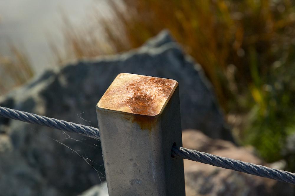 Railing post