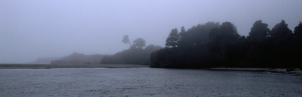 Mendocino in the fog #2