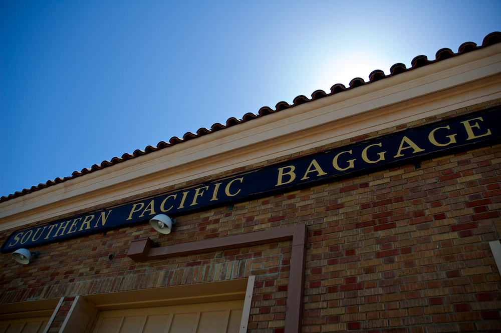Southern Pacific Baggage